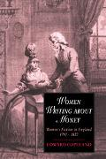 Women Writing About Money Women's Fiction In England, 1790û1820