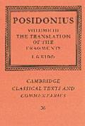 Posidonius: The Translation of the Fragments, Vol. 3