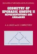 Geometry of Sporadic Groups II Representations and Amalgams