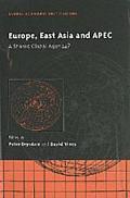 Europe, East Asia and the Apec A Shared Global Agenda