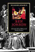 Cambridge Companion to Ben Jonson