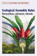 Ecological Assembly Rules Perspectives, Advances, Retreats