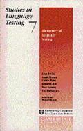 Dictionary of Language Testing