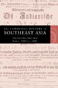 Cambridge History of Southeast Asia From C. 1500 to C. 1800