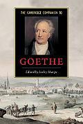 Cambridge Companion to Goethe