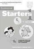Cambridge Starters 1 Examination Papers from the University of Cambridge Local Examinations ...