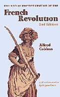 The Social Interpretation Of The French Revolution