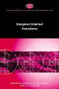 European Criminal Procedures