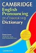 Cambridge English Pronouncing Dictionary