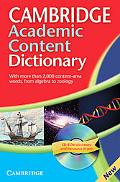 Cambridge Academic Content Dictionary Defining Success for High School and Beyond