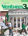 Ventures 3 Teacher's Book with Teacher's Toolkit CD-ROM