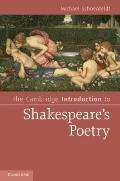 Cambridge Introduction to Shakespeare's Poetry