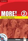 More! Level 2 Workbook with Audio CD