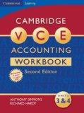 Cambridge VCE Accounting Units 3 and 4 Workbook: Units 3&4