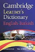 Cambridge Learner's Dictionary English-Turkish with CD-ROM (Dictionary Book & CD Rom)