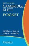 Diccionario Cambridge Klett Pocket Espanol-Ingles/English-Spanish