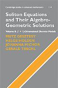 Soliton Equations and Their Algebro-Geometric Solutions: Volume 2, (1+1)-Dimensional Discret...