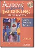 Academic Listening Encounters: Life in Society Student's Book with Audio CD: Listening, Note...