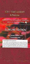 NRSV Slimline New Testament and Psalms NR012:NP
