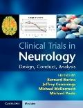 Clinical Trials in Neurology : Design, Conduct, Analysis