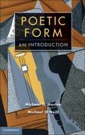 Poetic Form: An Introduction (Cambridge Introductions to Literature)