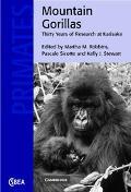 Mountain Gorillas Three Decades of Research at Karisoke