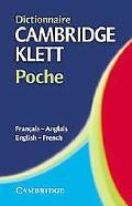 Dictionnaire Cambridge Klett Poche Francais-Anglais/English-French