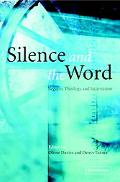 Silence and the Word Negative Theology and Incarnation