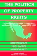 Politics of Property Rights Political Instability, Credible Commitments, and Economic Growth...