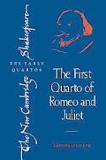 First Quarto of Romeo and Juliet