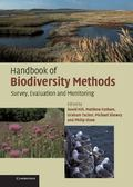 Handbook Of Biodiversity Methods Survey, Evaluation And Monitoring
