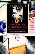 Cambridge Companion To American Modernism