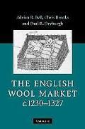 English Wool Market, C. 1230-1327