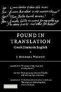 Found in Translation Greek Drama in English