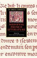 Cambridge Companion to Medieval French Literature