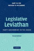 Legislative Leviathan Party Government in the House