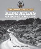 Rand McNally Harley Davidson Ride Atlas of North America (The Anniversary Edition)
