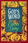 God's Word for Each Day God's Word Burgundy Imitation Leather