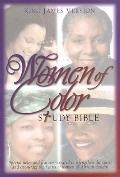 Women of Color Study Bible King James Version, Black Bonded Leather