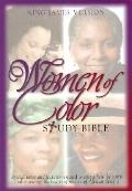 Women of Color Study Bible King James Version / Burgundy Bonded Leather