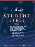 Student Bible King James Version / Burgundy Bonded Leather