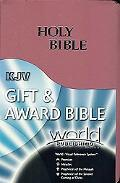 Holy Bible Gift and Award Bible/King James Version/Rose Petal/Imitation Leather/220Dnro