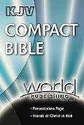 Compact Bible King James Version, Deep Blue Bonded Leather