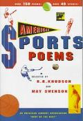 American Sports Poems - R. R. Knudson - Hardcover - REISSUE