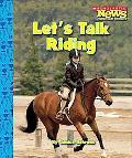 Let's Talk Riding
