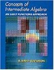 Concepts of Intermediate Algebra: An Early Functions Approach