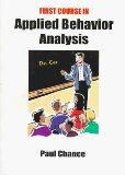 First Course in Applied Behavior Analysis (Psychology)