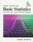 Study Guide for Spatz's Basic Statistics: Tales of Distributions