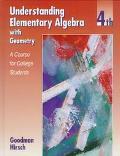 Understanding Elem.algebra W/geometry