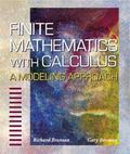 Finite Mathematics With Calculus A Modeling Approach